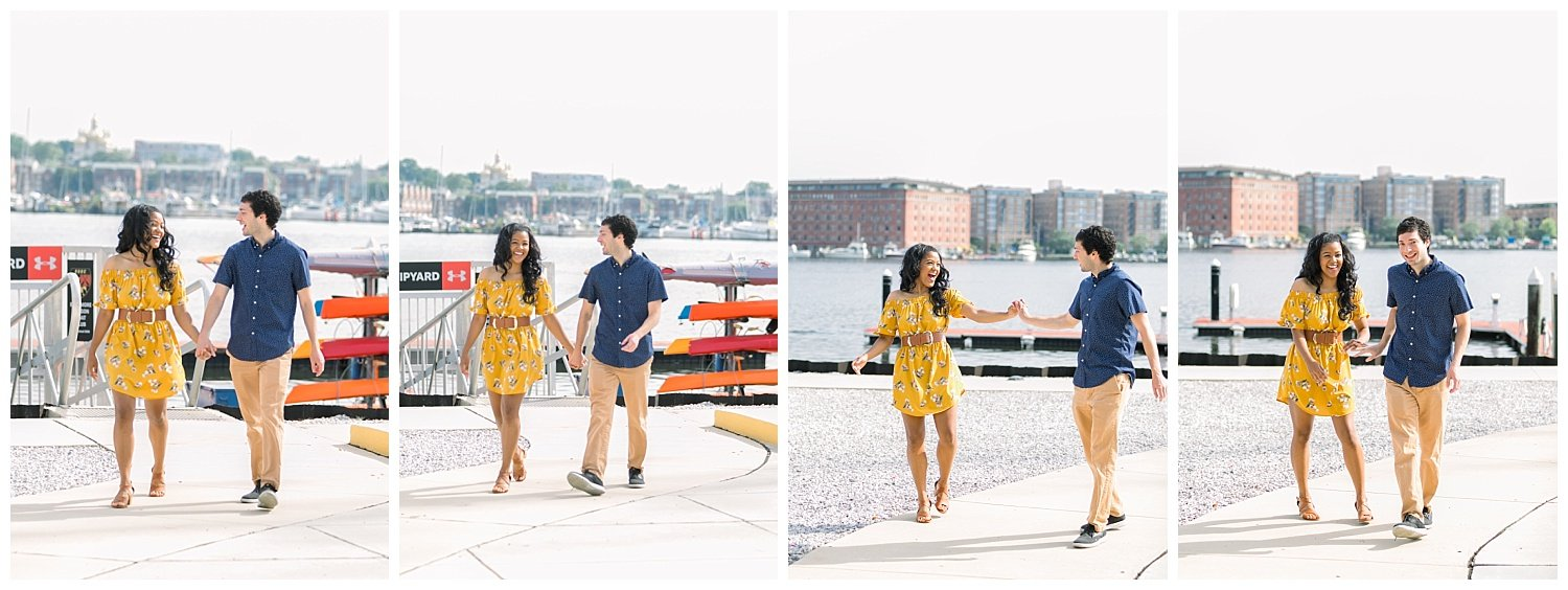 Baltimore engagement session,Federal Hill,Under Armour, Baltimore Engagement Session at Federal Hill & Under Armour Pier, Fine Art Wedding Photographer Baltimore MD